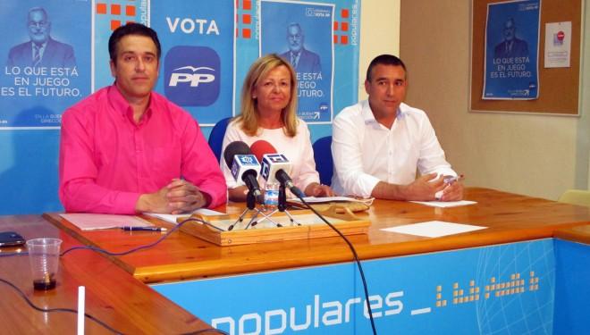 Tébar, Moreno y Sorio continuaron exponiendo el programa del PP en Europa