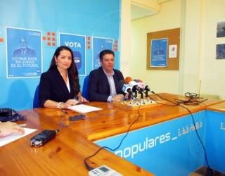 Marta Pérez recordó, de cara a las elecciones, las inversiones realizadas a través de la Comunidad Europea