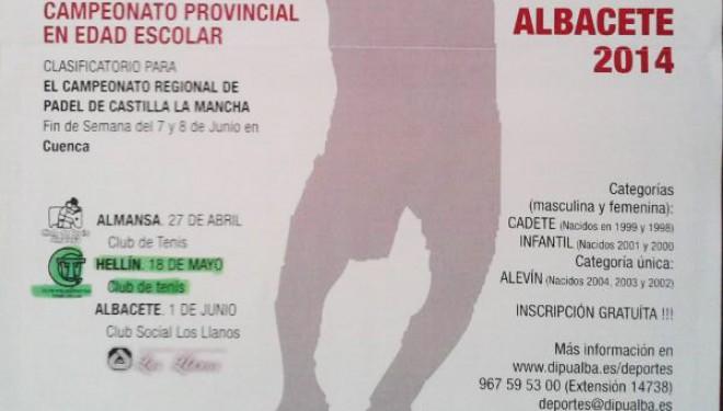 II Copa Diputación de Padel