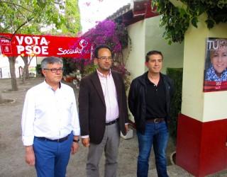 Duras críticas en el acto central del PSOE a las políticas del PP