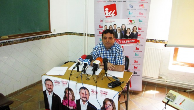 Juan Carlos Marín mostró las propuestas en Sanidad del programa IU