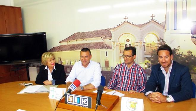 Presentación del II Torneo de Padel organizado por el Club de Tenis Hellín