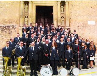 La Unión Musical Santa Cecilia de Hellín celebra su concierto navideño