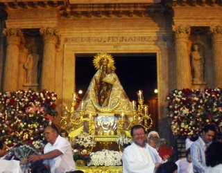 Actos en honor de la Virgen del Rosario