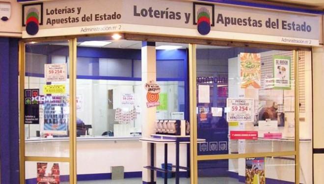 Parte del primer premio de la Lotería Nacional del pasado sábado vendido en Hellín