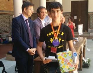 Un estudiante hellinero ganador de la Olimpiada matemática de Castilla-La Mancha