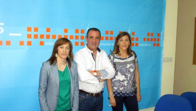 Irene Moreno y Piedad Tercero pasan revista a las últimas actividades