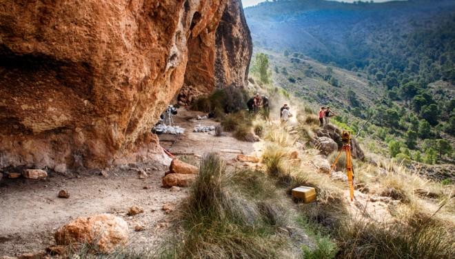 """Nuevo asentamiento humano encontrado en el municipio de Hellín, """"El Acebuchal"""""""