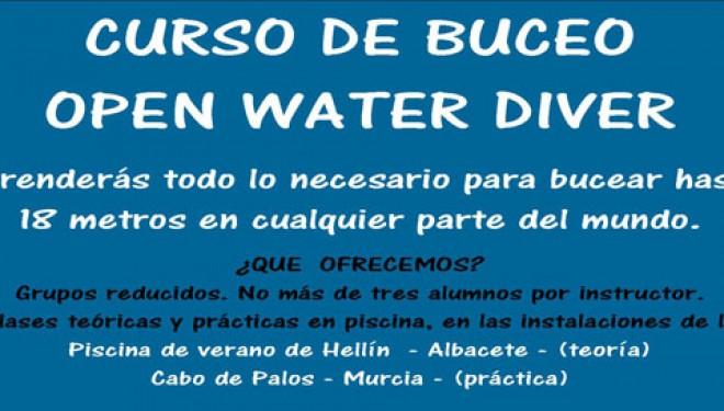 """Curso de Buceo """"Open Water Diver"""""""