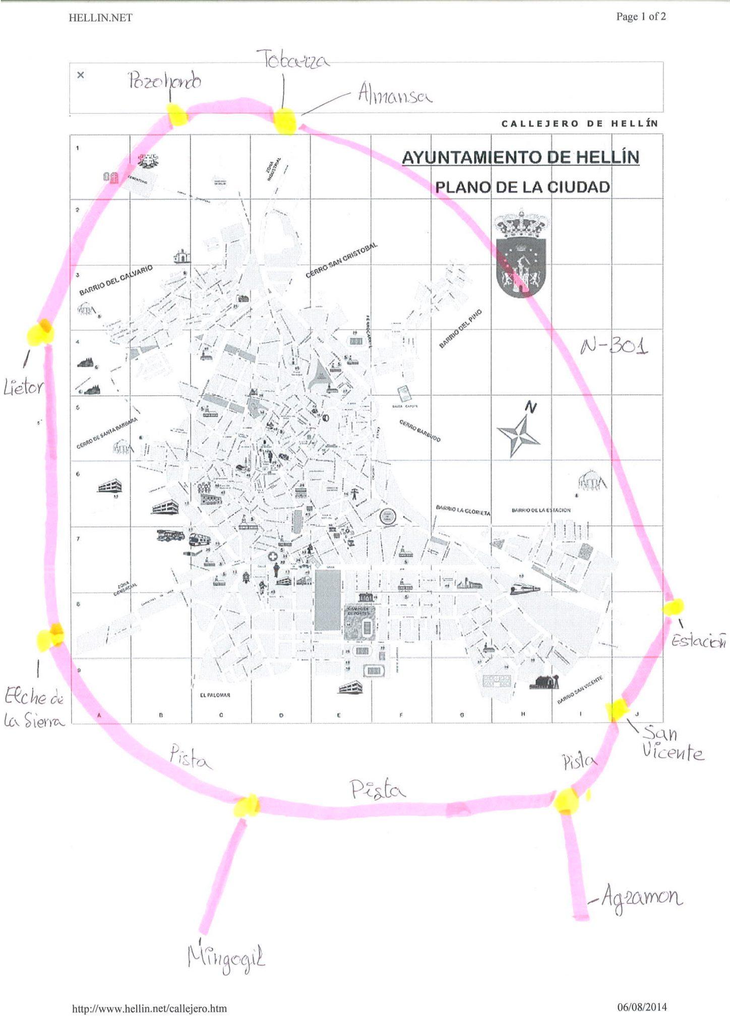 Mapa circuito
