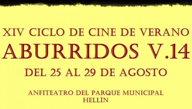 El Ciclo de Cine de Verano ABURRIDOS retorna a Hellín