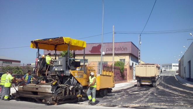 En marcha las obras de acceso al Polígono de La Fuente