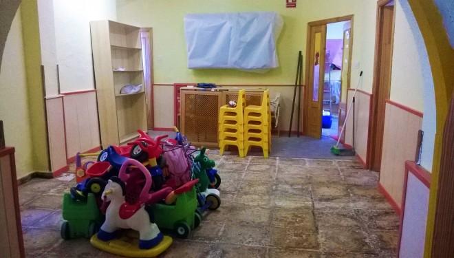 Polémica por el estado de la Escuela Infantil Martínez Parras