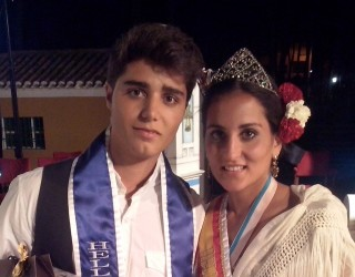 Antonia Villalgordo y Alejandro García elegidos Hellineros de Honor