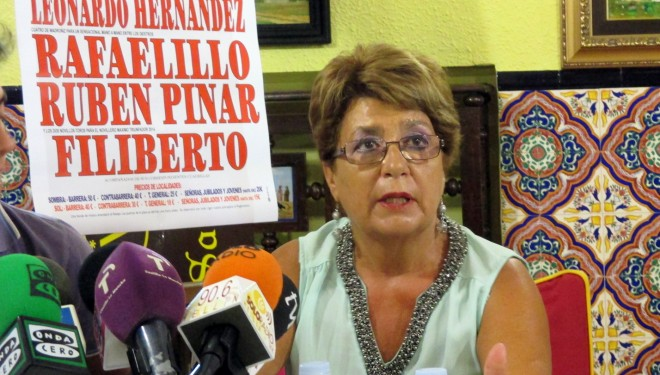 Las XXIII Jornadas Culturales y Taurinas ofrecerán un homenaje póstumo a Marisa García