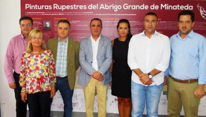 Presentación del Stad del Centenario del Descubrimiento de las Pinturas Rupestres de Minateda