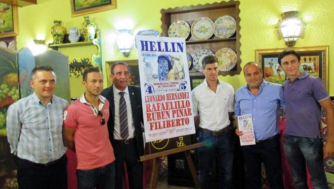 Presentado el cartel taurino para la Feria de Hellín