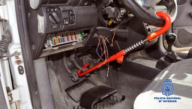 Un detenido en Hellín por robo de vehículos