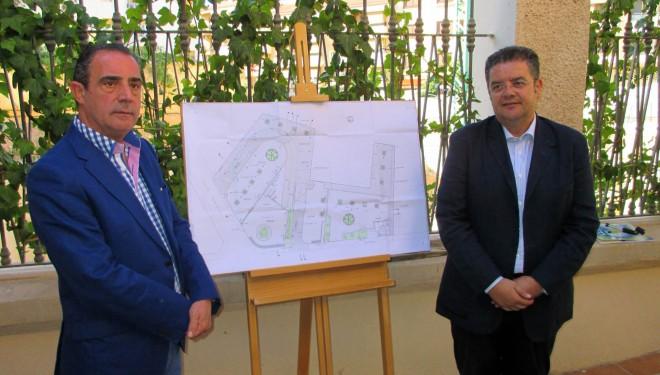 Reanudadas las obras del aparcamiento de la calle Sol