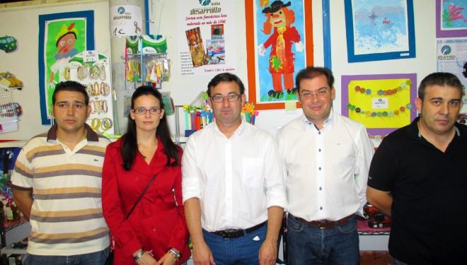 Visita de Daniel Martínez a la Feria de Hellín