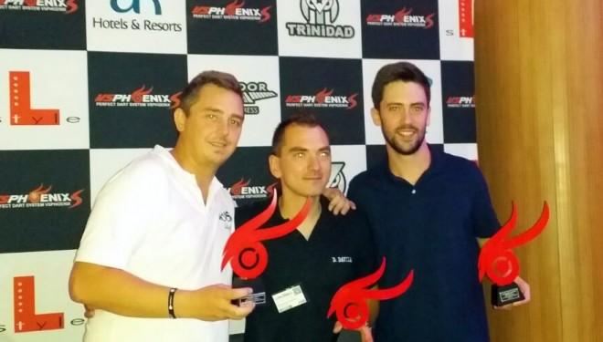 Jose Luis Touchard, subcampeón de España de Dardos en Calpe