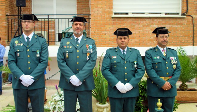 Actos en honor a la Patrona de la Guardia Civil