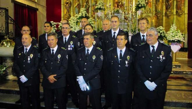 Acto homenaje a la Policía Local