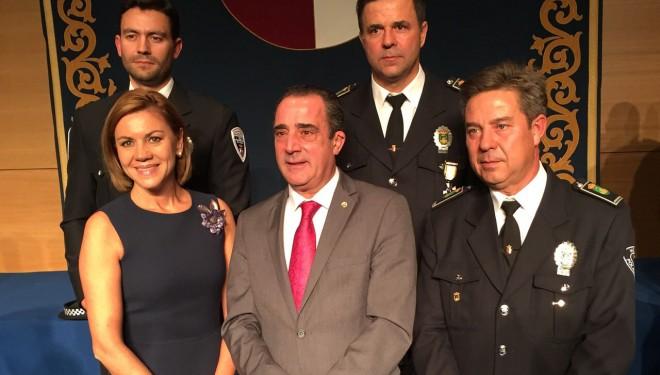 Acto de condecoraciones a Policías Locales de CLM