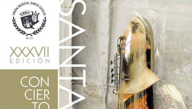 La Unión Musical Santa Cecilia celebra la fiesta en honor a Santa Cecilia