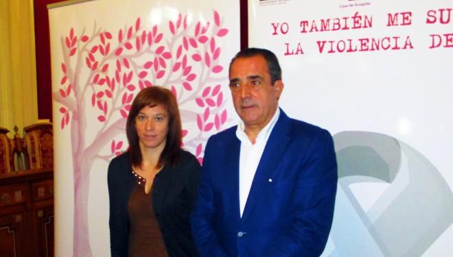 Manuel Mínguez e Irene Moreno presentaron las actividades a realizar con motivo del Día Internacional de la Mujer