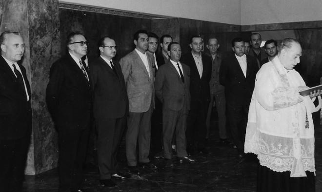 Inauguración Banco Central.