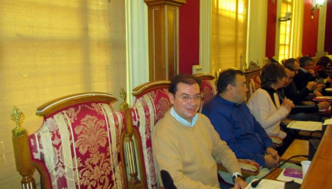Juan Carlos Marín y Javier Morcillo fueron los protagonistas de la sesión plenaria