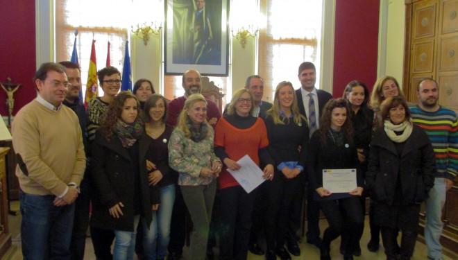 Clausura y entrega de diplomas  del Taller de Empleo Tolmo IV