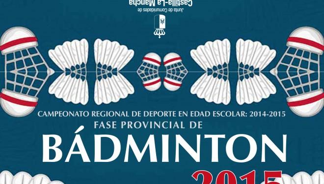 Campeonato Provincial de Badminton en edad escolar