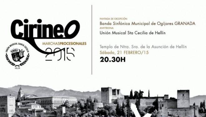 La Unión Musical Santa Cecilia de Hellín celebra el Cirineo