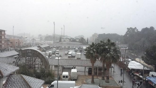 La nieve y el frío llegan a la ciudad