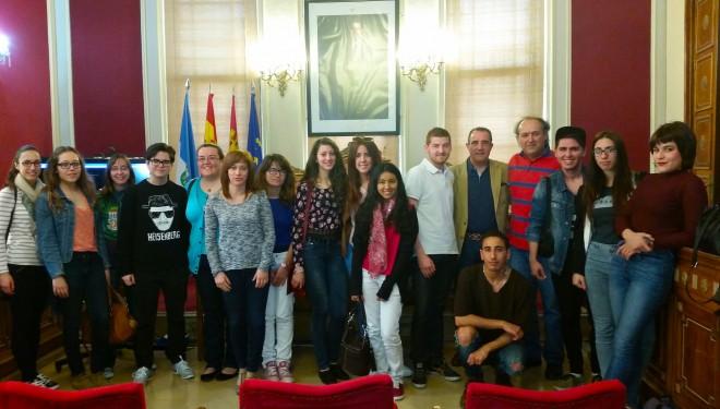 Visita de un grupo de 15 estudiantes de turismo