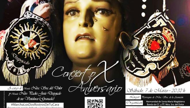 La Banda de Nuestra Señora del Dolor de Hellín celebrará su X aniversario con un concierto en La Asunción