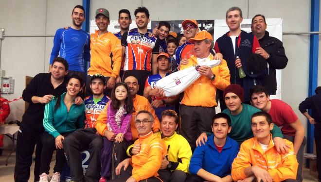Primer puesto en la clasificación general por equipos del C.C Hellín en Tobarra
