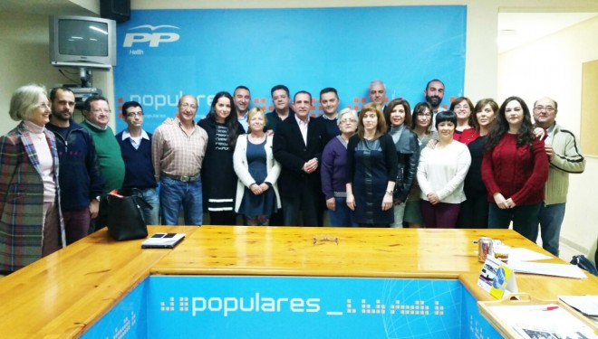 La Ejecutiva local del PP de Hellín, propone a Manuel Minguez como candidato a la Alcaldía de Hellín