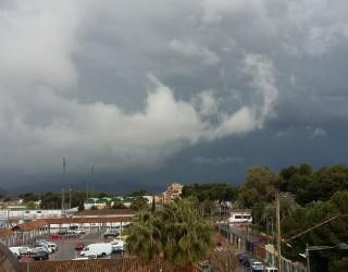 La tormenta deslució la Ofrenda de Flores a la Virgen del Rosario