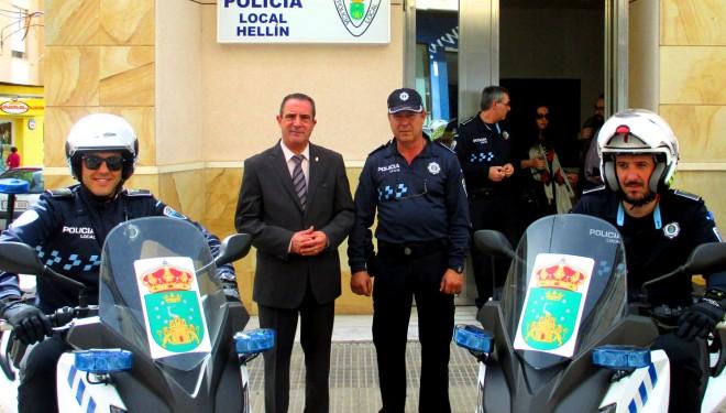 Entrega a la Policía Local de dos nuevas motocicletas