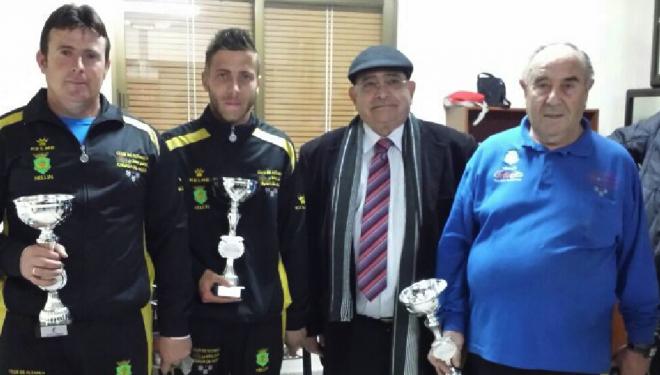 El equipo hellinero de Petanca campeón de Castilla-La Mancha
