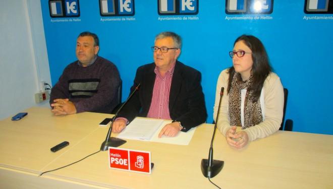 El PSOE sigue insistiendo para que se anule la concesión de aguas a la SAT Regadíos del Sur de Hellín