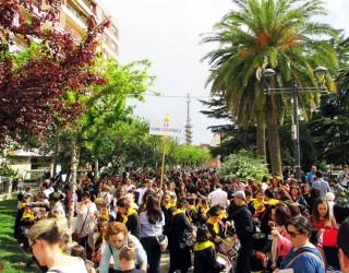 La Tamborada Infantil toma las calles de Hellín