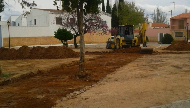 Se inician las obras de acondicionamiento de la Plaza del Cine