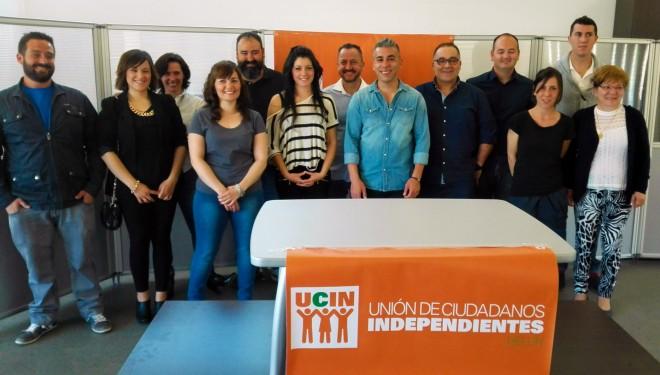 Presentación de la candidatura de la Unión de Ciudadanos Independientes de Hellín (UCIN)