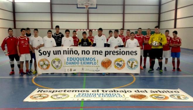"""La Concejalía de Deportes informa sobre la celebración de la segunda jornada del programa """"Eduquemos dando ejemplo"""""""