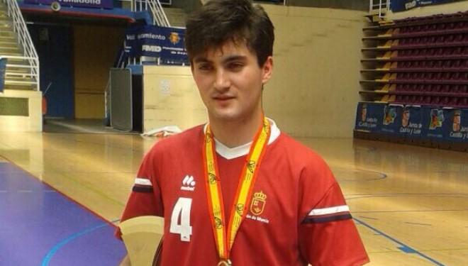Pedro Caro, Campeón de España de Voleibol por Selecciones Autonómicas