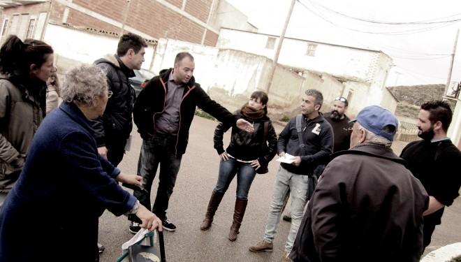 La Unión de Ciudadanos Independientes (UCIN) sigue su viaje por barrios y pedanías